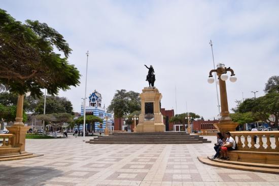 Plaza de Armas, Pisco