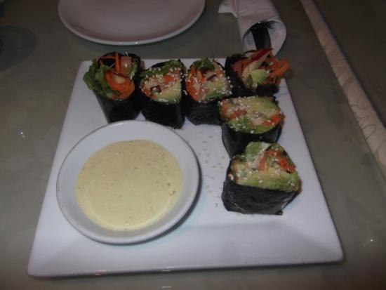 Vegetarian Haven: faux sushi