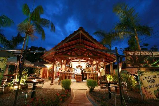 Blue Palm Hotel: Tacobar restaurant