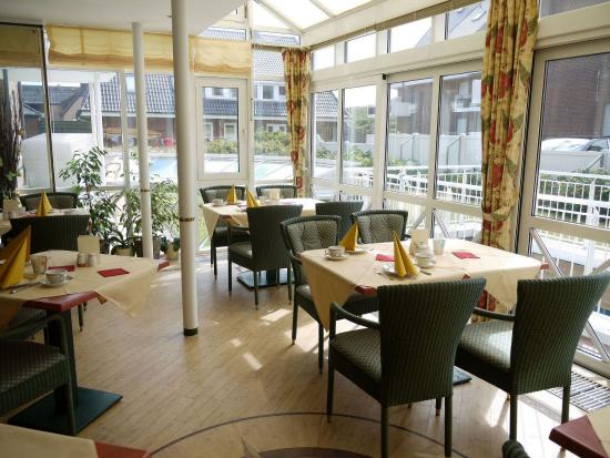 Strandhotel Sylt: Breakfast buffet Restaurant