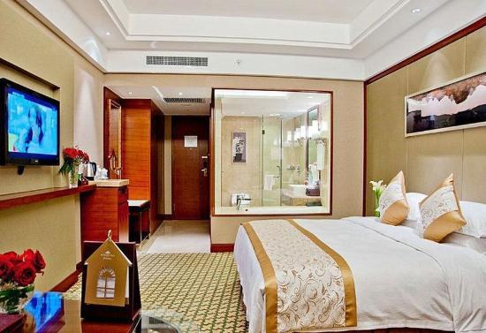 Jilin, China: Warm King Room