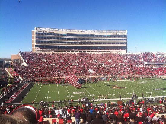 Jones AT&T Stadium @ Texas Tech University