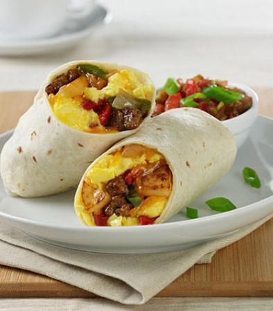 Camarillo, CA: Breakfast Burrito