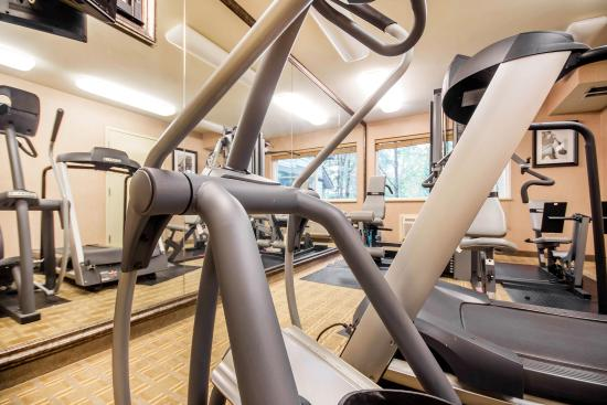Langley City, Kanada: Fitness center