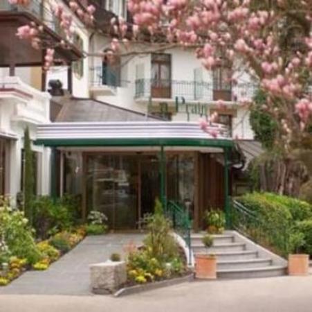 Yverdon-les-Bains, سويسرا: Hotel area