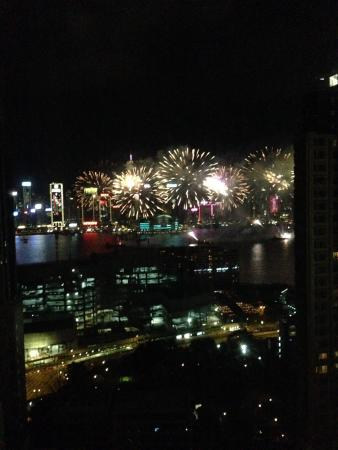 Hotel Panorama by Rhombus: 2016 CNY fireworks from our suite