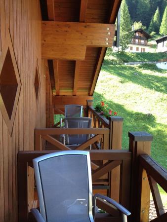 Hotel Alpenhof : Balcony