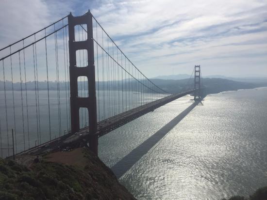 Саусалито, Калифорния: Great shot of the Golden Gate Bridge