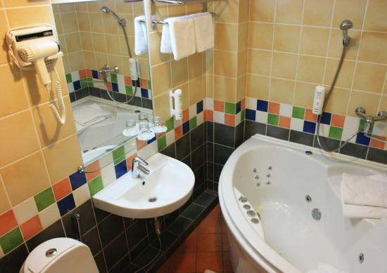 Birstonas, Litvanya: Apartment with jacuzzi bath