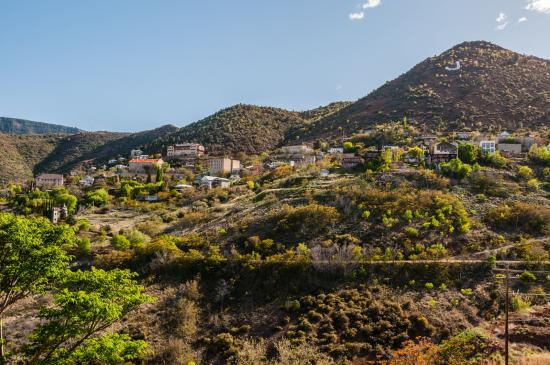 Looking Across to Jerome from the Mansion