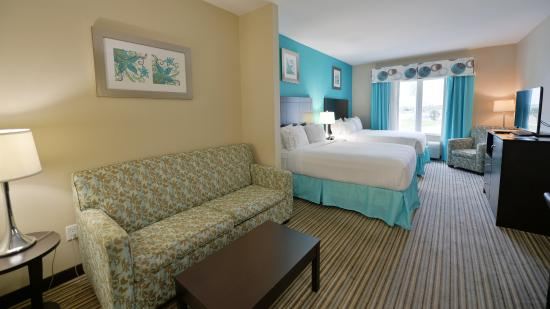 Port Lavaca, Τέξας: Two Queen Executive Suite