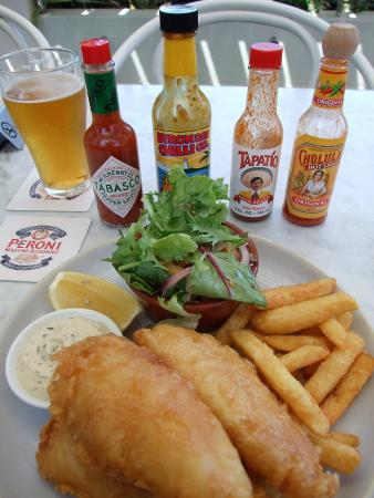 Lane Cove, Australia: Fish and chips very generous and delicious also.