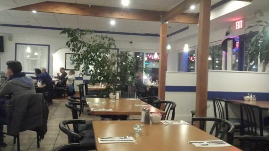 Burnaby, Canadá: Inside the restaurant