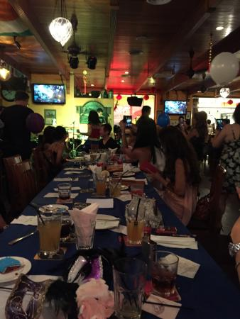 Healy Mac's Irish Bar & Restaurant: Birthday party