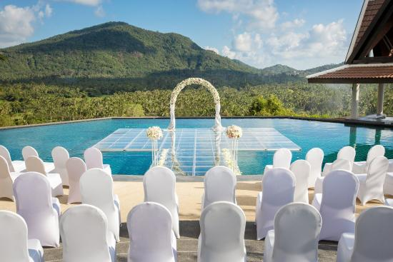 Taling Ngam, Thailand: Over-Water Wedding