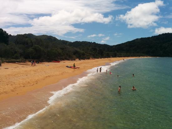 Abel Tasman National Park, Nowa Zelandia: Kayaking, swimming and relaxing on the beach