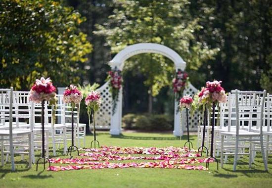 Pine Mountain, GA: Outdoor Wedding