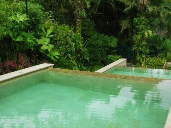 Tabacon Grand Spa Thermal Resort: Cold dip