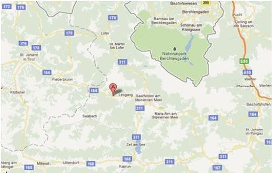 ลีโอแกง, ออสเตรีย: Map