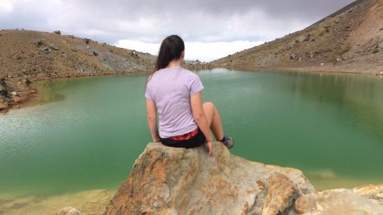Tongariro National Park, นิวซีแลนด์: The lakes are awesome