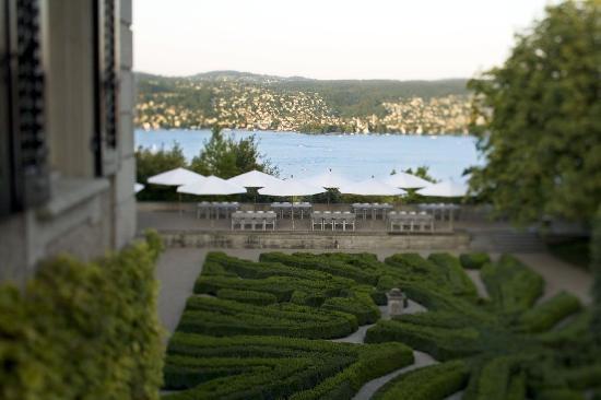 Rueschlikon, Swiss: A wonderfull view to the Lake of Zurich