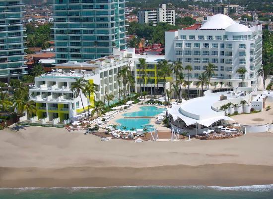 Hilton Puerto Vallarta Resort: Birdseye View