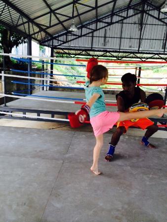 Kamala, Thailand: First lesson!!