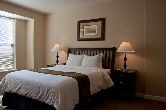 The Lansburgh: Washington Furnished Apartment Bedroom