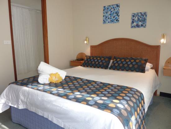 Меримбула, Австралия: Upstairs balcony suite