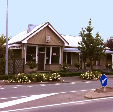 Canterbury Region, Neuseeland: Cafe frontage