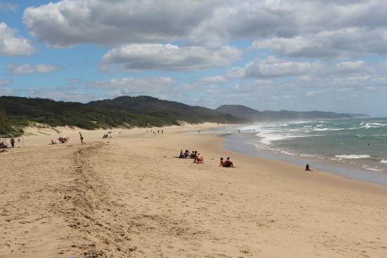St Lucia, แอฟริกาใต้: Stranden ute vid Cape Vidal