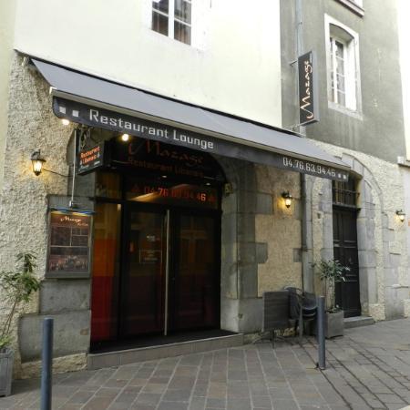 restaurant le mazage dans grenoble restoranking fr