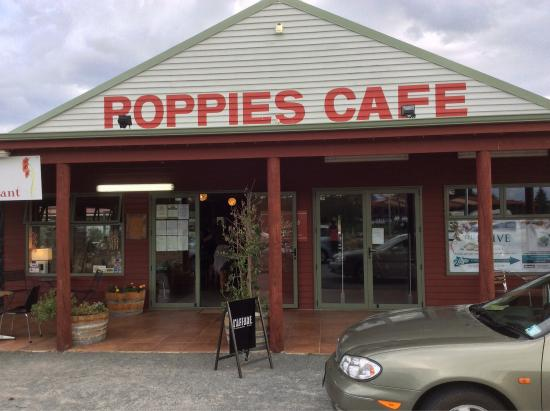 Twizel, Новая Зеландия: Poppies Cafe