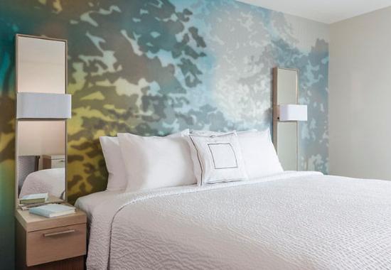 สตาฟฟอร์ด, เวอร์จิเนีย: King Guest Room Sleeping Area