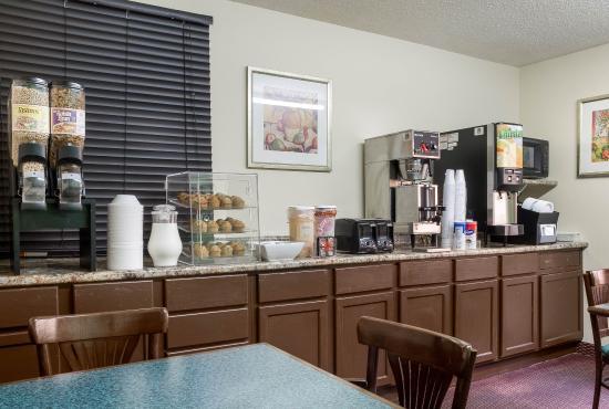 West Fargo, Kuzey Dakota: Breakfast Area