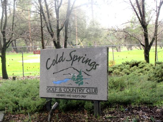 Cold Springs Golf and Country Club, Cold Springs, Ca