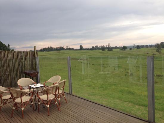KwaZoeloe-Natal, Zuid-Afrika: Stunning view from deck