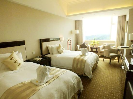Haikou, Cina: Sea View Twin Room