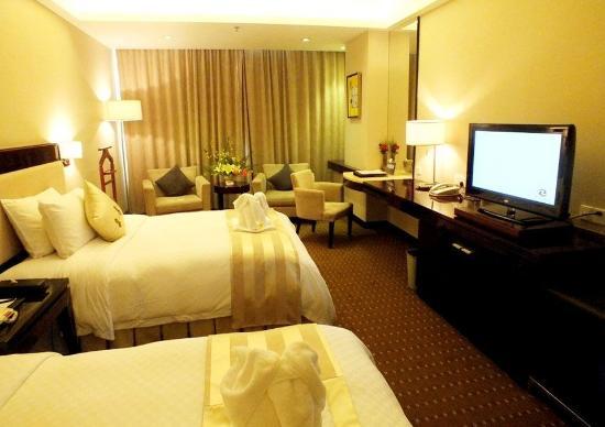 Haikou, China: Admin Seaview Twin Room