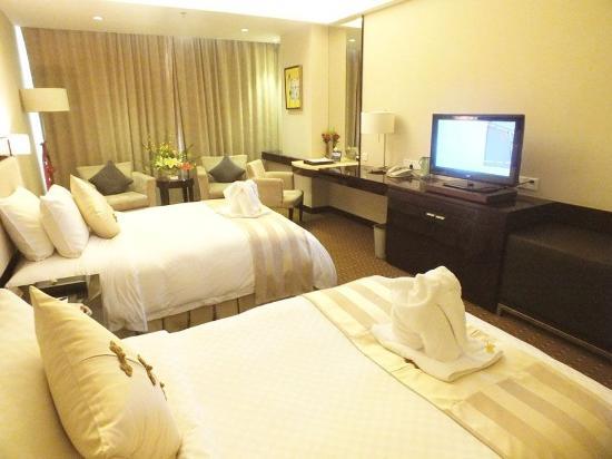 Haikou, China: Admin Golf Seaview Twin Room