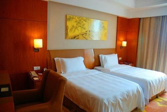 Fuyang, จีน: Landscape Twin Room