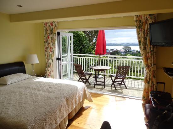Russell, Nieuw-Zeeland: View from room