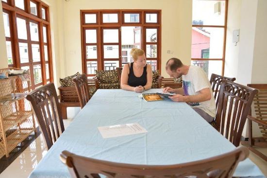 Araliya Blue Beach View Hotel: Upper Dining Area
