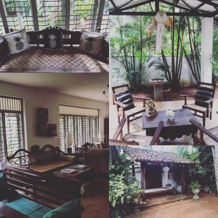 Lilly Village Boutique Hotel : Collage of the grounds / communal areas