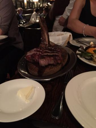 Keens Steakhouse: Mhm...