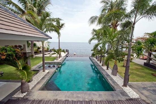 Villa Sensey Bali: Villa Sensey aerial rview