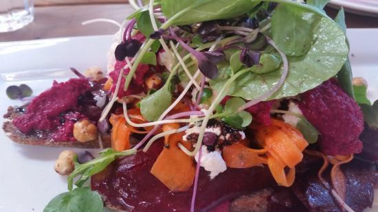 Motueka, Nueva Zelanda: delicious salad