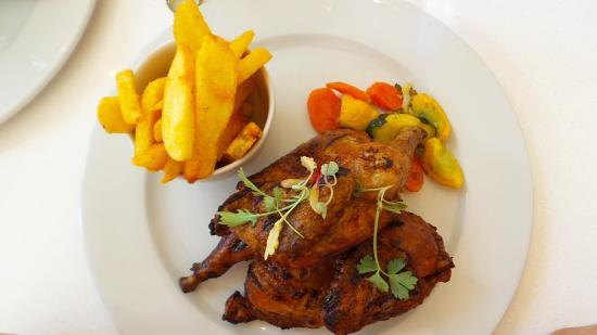 Малдерсдрифт, Южная Африка: pollo verdure e patatine