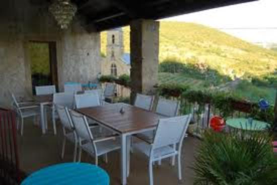 Compregnac, Francia: la terrasse