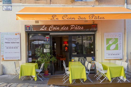Le restaurant picture of le coin des pates aix en - Cuisine aix en provence ...